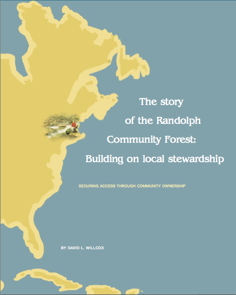 The Story of the Randolph Community Forest
